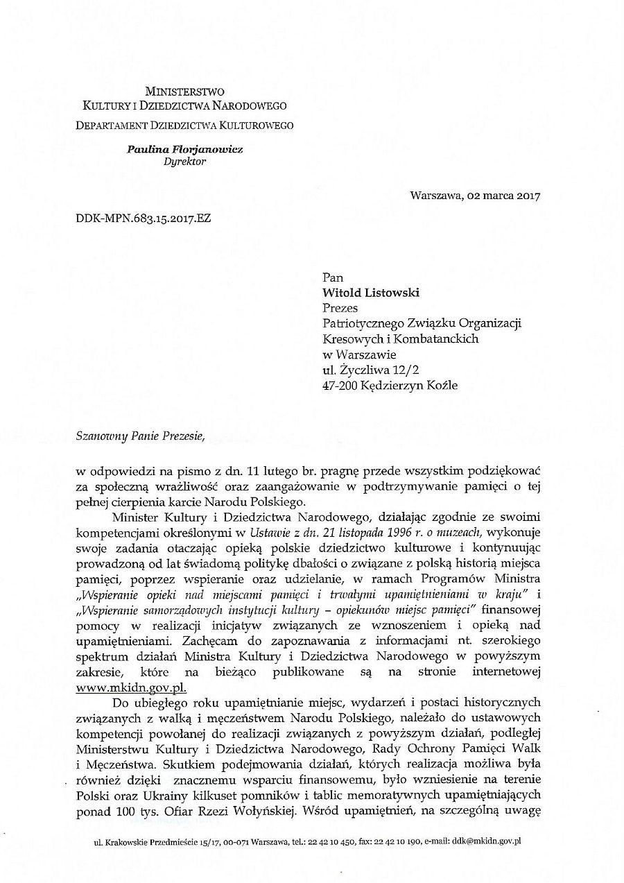 Odpowiedz Ministerstwa Kultury_1